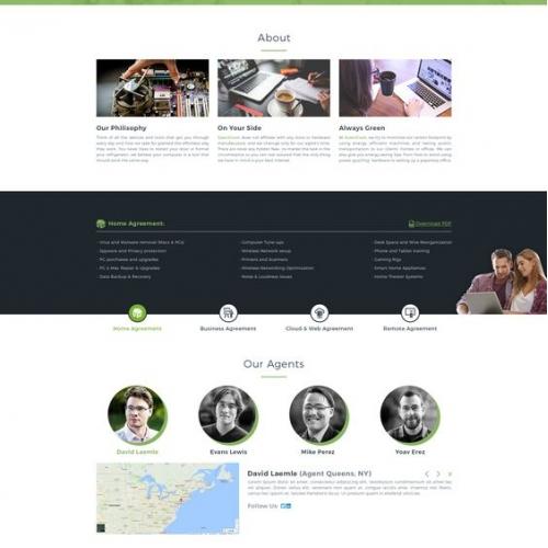 Technology sites design